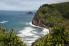 From the top of the trail at the Pololu Look out.