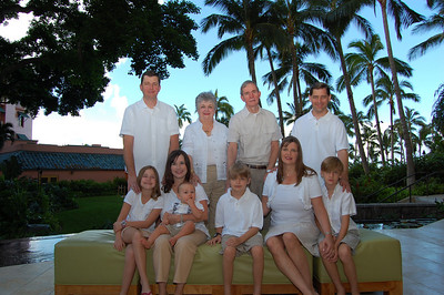 Hawaii Beach Family Photos - July 2010