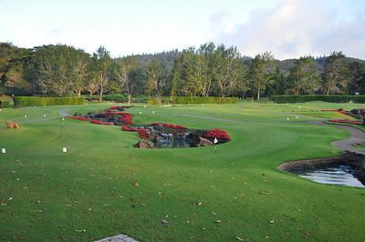 The Koele lodge 18-hole putting course.