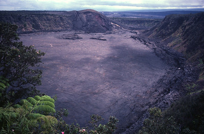 Big Island - Kilauea Volcano crater
