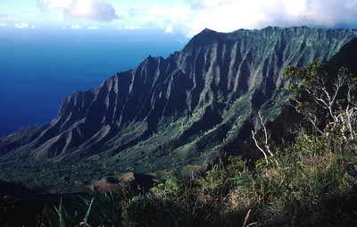 Kauai - Kalalau Valley from Waimea Canyon
