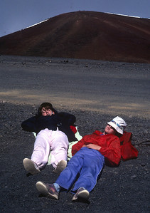 Big Island - near the top of Mauna Loa Volcano at 13,679 feet