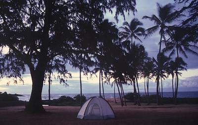 Big Island - beach campground