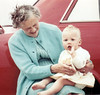 Bessie Chadwick with Andrea Stanworth granddaughter