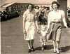 Bessie Haworth ( Fisher ) George Haworth and a wee scotch lassie  Nancy Blackpool 1945 Jack Haworth and Martha Fisher in background