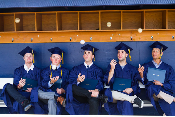 Hayden and baseball graduating class