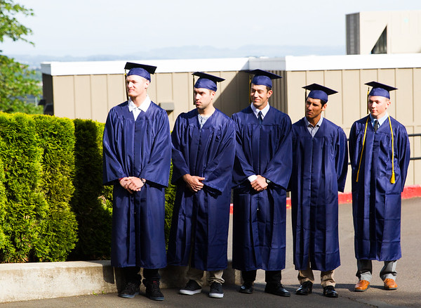 Hayden and the baseball graduating class 2016