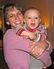 Elizabeth Rynecki holds Karl Naphtali Knox