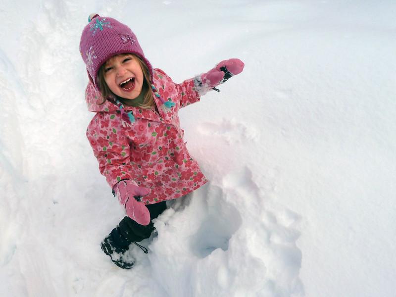 Hazel and snow-hole_038