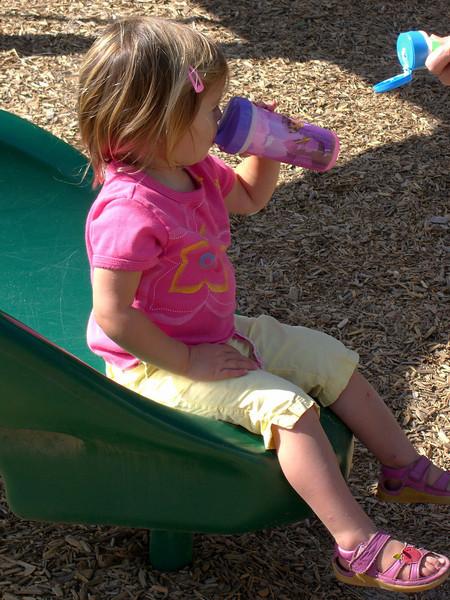 Hydrating between slides. 008