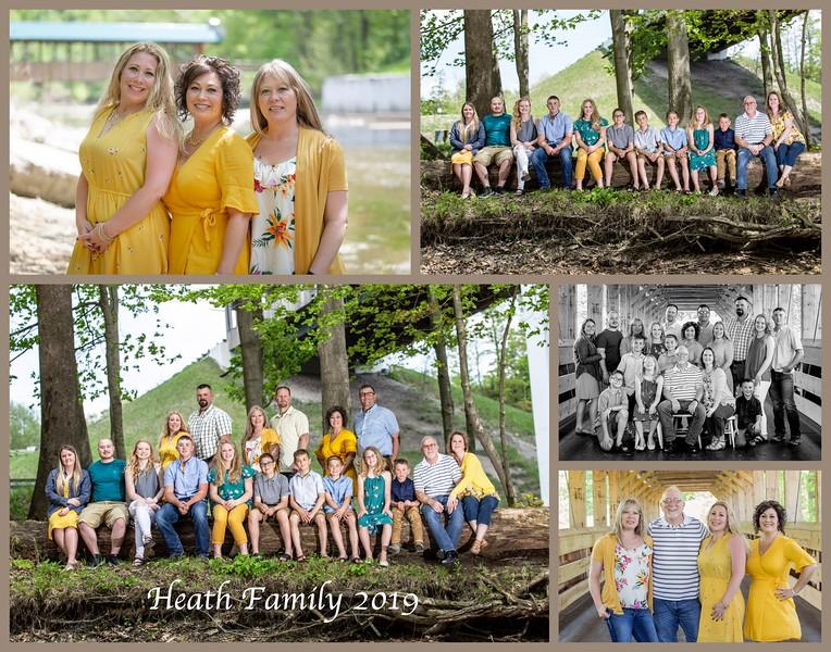 Heath Family 11x14