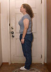 November 6, 2004.  12½ months after surgery.  190 Lbs.