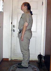 May 31, 2004.  Seven months after surgery.  213 lbs