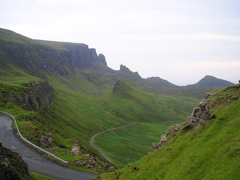 beautiful Skye awesome roads