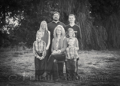 Heideman Family 03bw