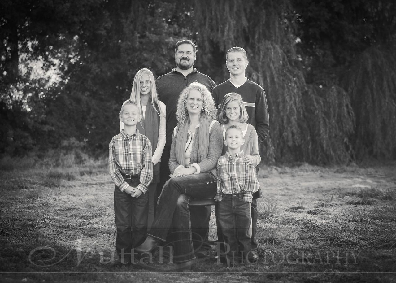 Heideman Family 03bw