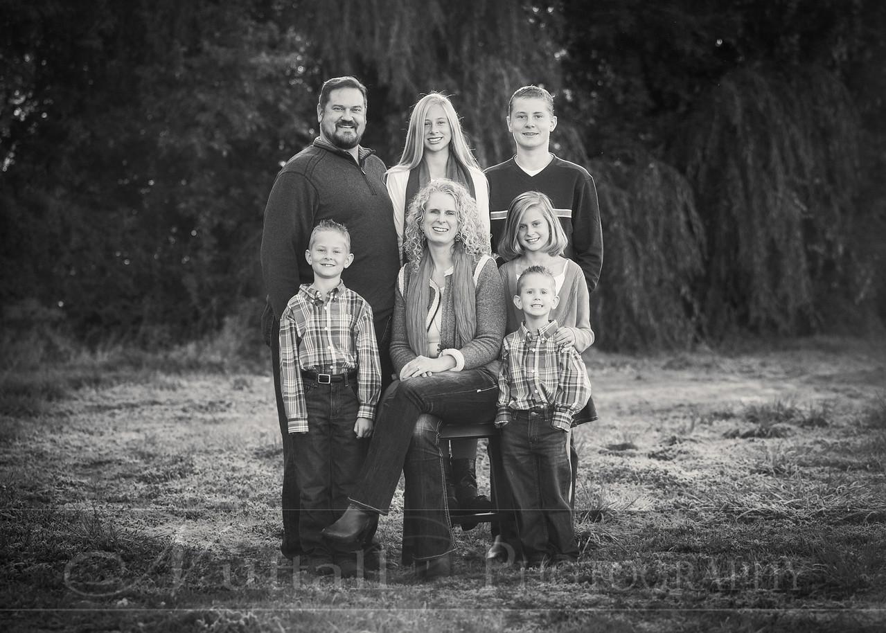 Heideman Family 01bw