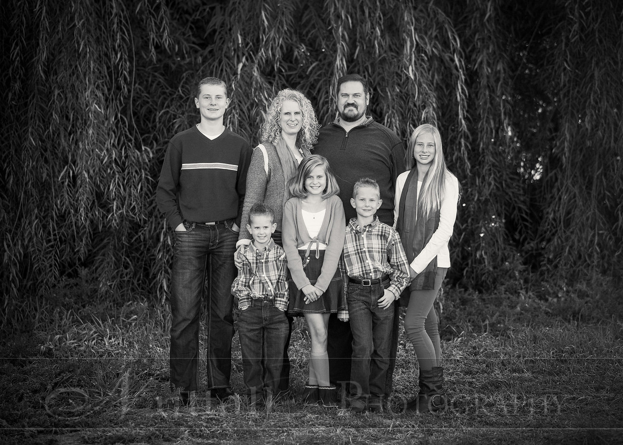Heideman Family 10bw