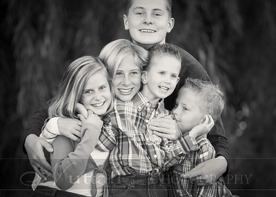 Heideman Family 21bw