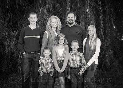 Heideman Family 11bw