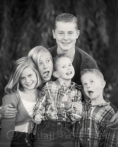 Heideman Family 22bw