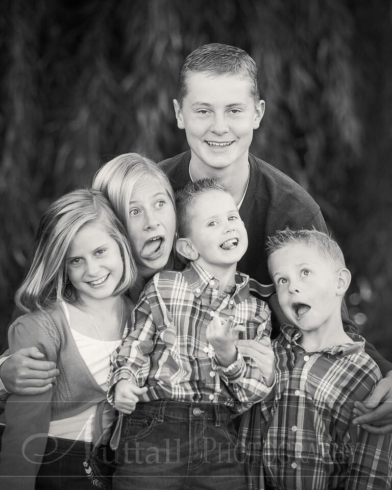 Heideman Family 22bw
