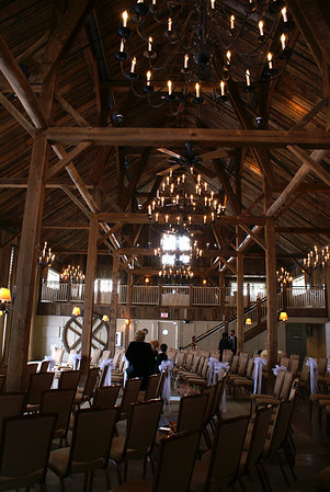 The ceremony and reception were held at Gibbet Hill, Groton, MA.