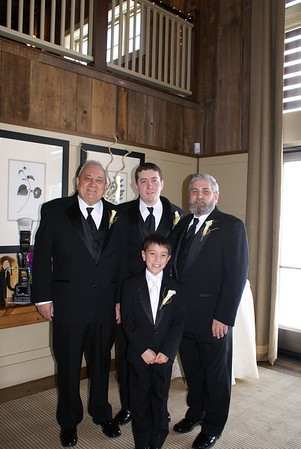 """Four Generations"" The four generations of the Hall family. (l to r) My father Wilfred, my son Michael Jr., my grandson Sean, and myself."