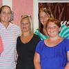 Terry, Sandy, Mary Jo, Deb, Sara, and Helen at Sylvia's 100th