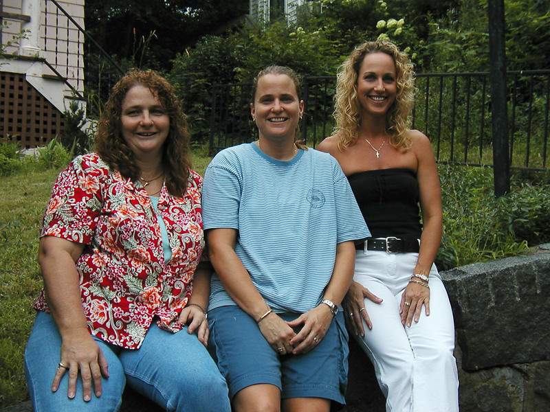 Deb, Sandy, and Teresa