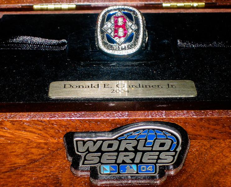 Red Sox 2004 World Series Championship  Ring Award