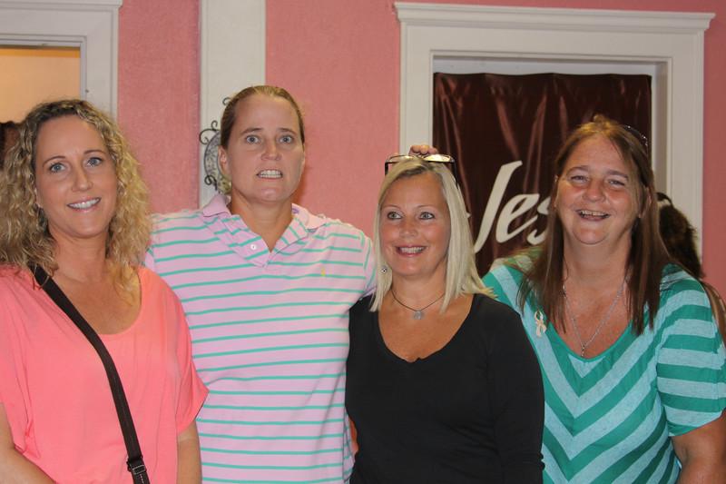 Teresa, Sandy, Mary Jo, and Deb