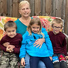 Grayson, Helen,  Caelyn, and Hunter