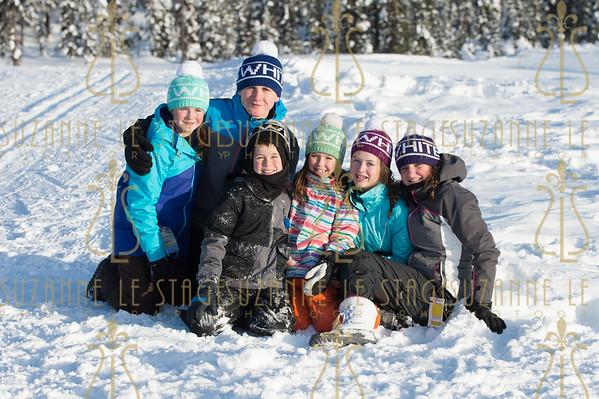 Irish Family Portraits - Big White Ski REsort