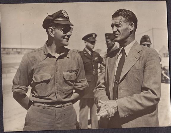 Dad with Congressman Walt Horn of Washington in Europe.