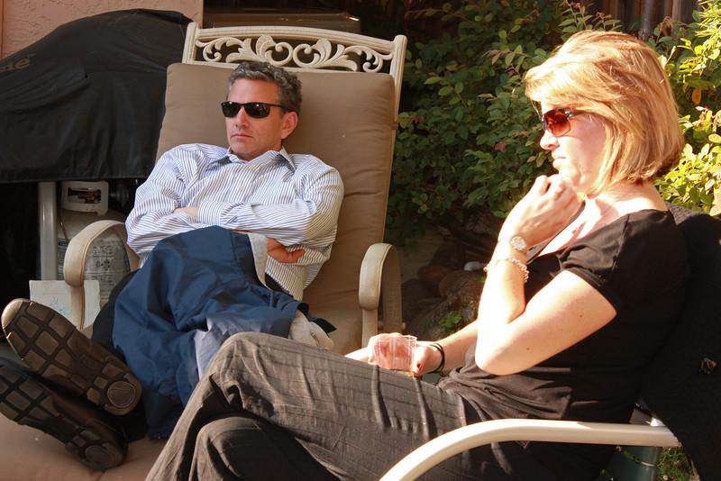 Brian John and wife
