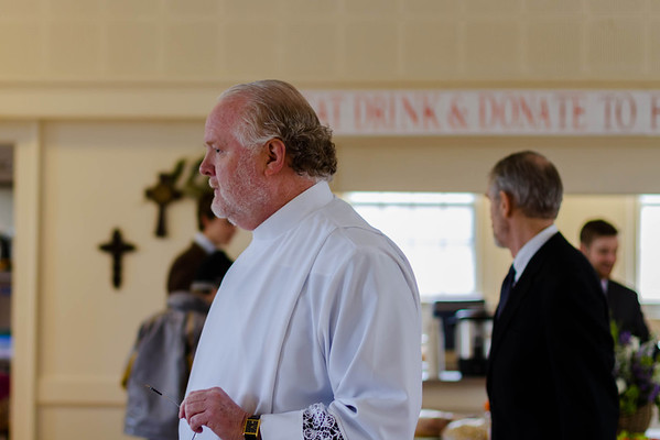3. Reception after Memorial Service
