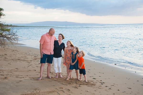 Herren Family Holiday Portrait Session