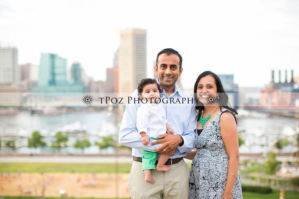 Hetal Patel Family