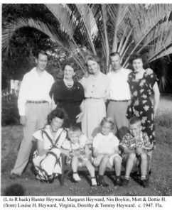 Heywards in Florida c 1947