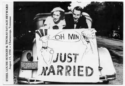 Tom & Louise Heyward Honeymoon