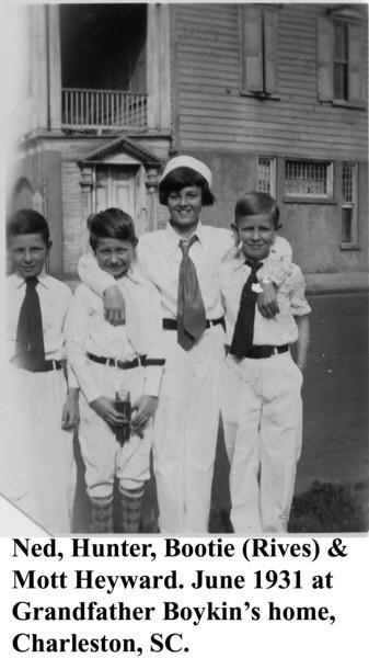 Ned Hunter Bootie & Mott 1931