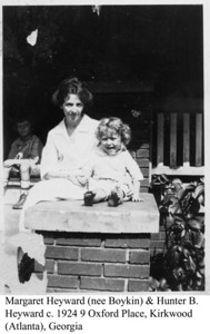 Margaret & Hunter Heyward c 1924 b
