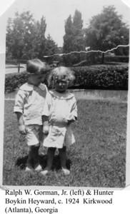 Hunter Heyward & Ralph Gorman c 1924 a