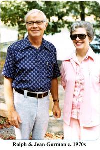 Ralph & Jean Gorman 1970s