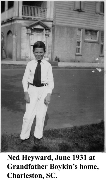 Ned Heyward 1931