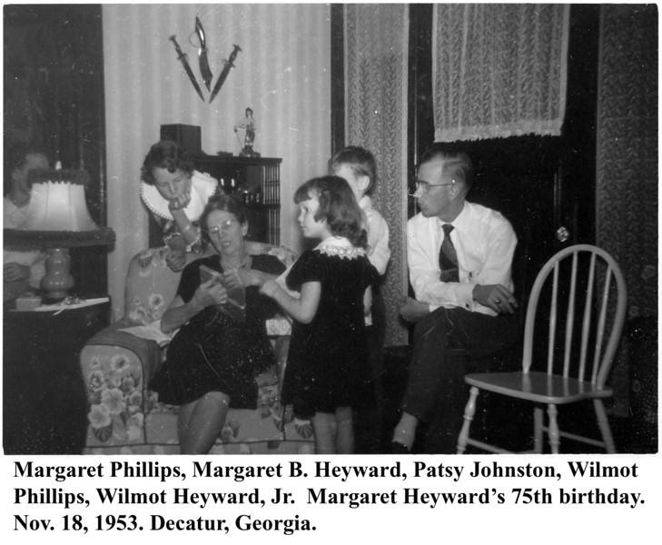 Grandmother Heyward 75th 1953_03