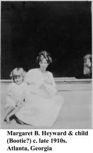 Margaret Heyward & child c late 1910s