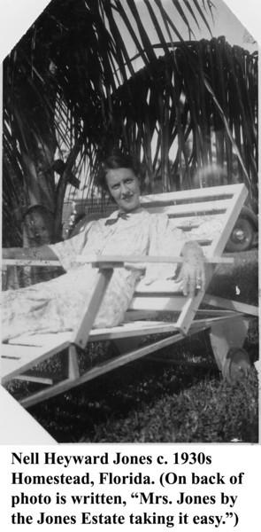 Nell Jones c 1930s