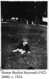 Hunter Heyward c 1924